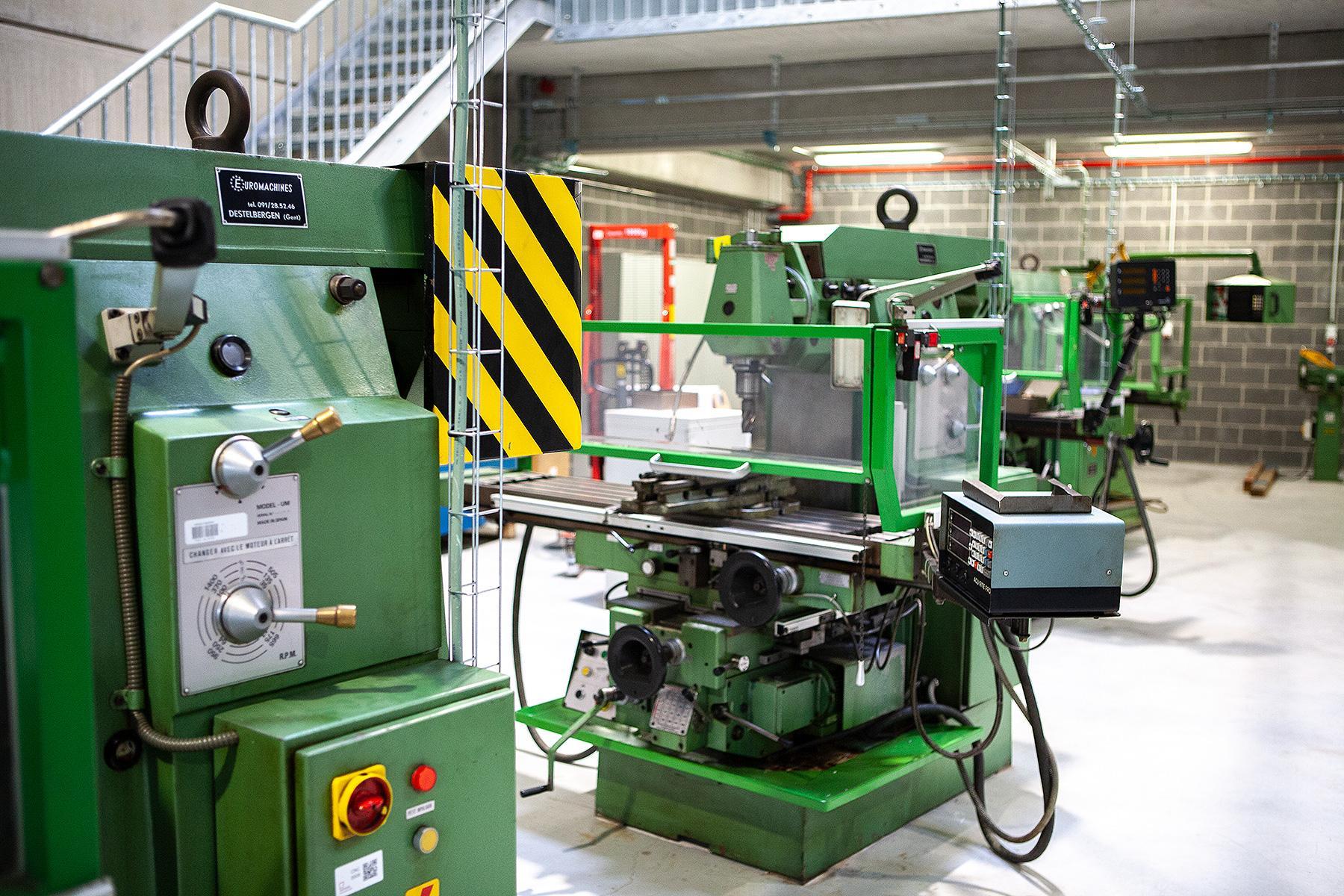 Atelier mécanique industrielle