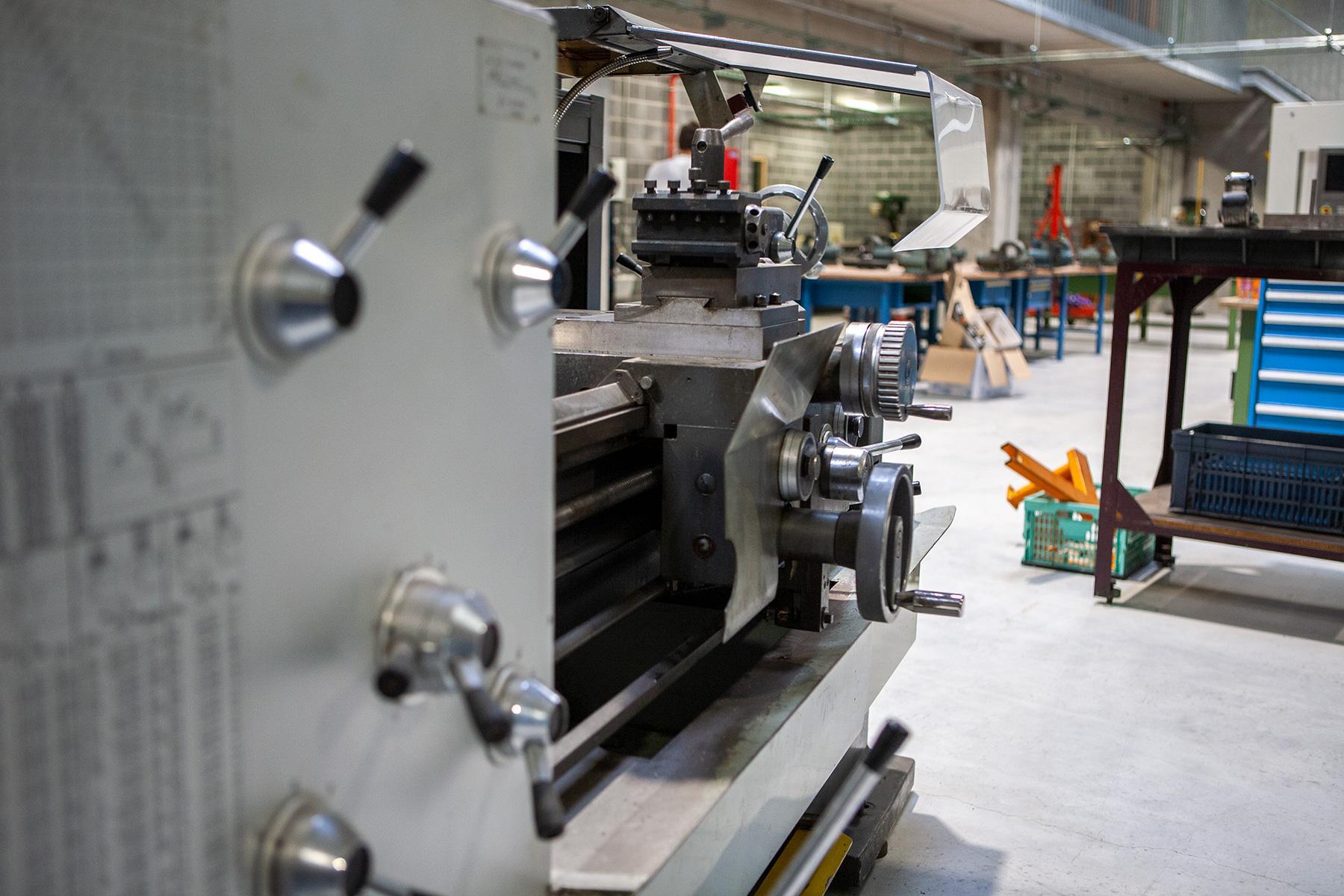 Atelier tôlerie industrielle