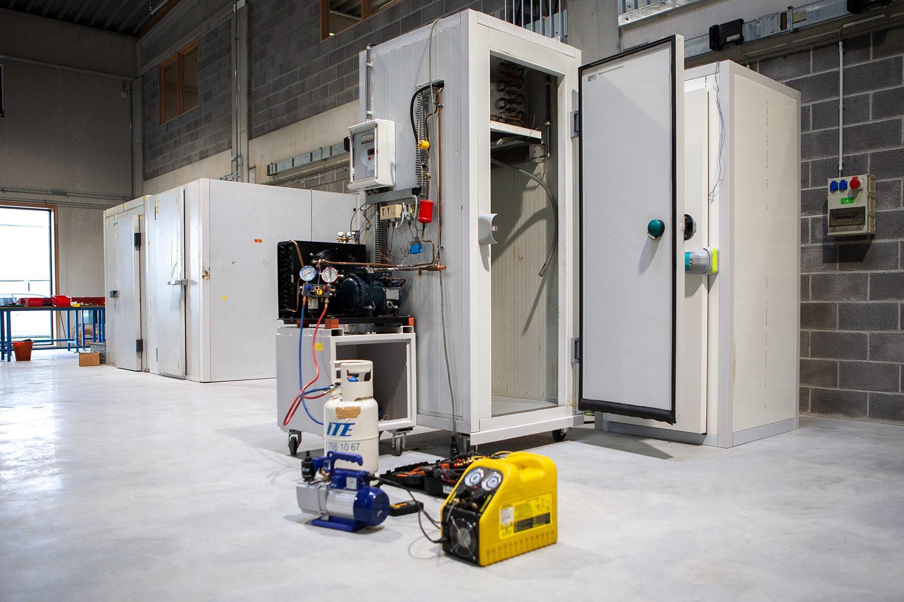 Préparation à l'épreuve d'agrément pour technicien frigoriste