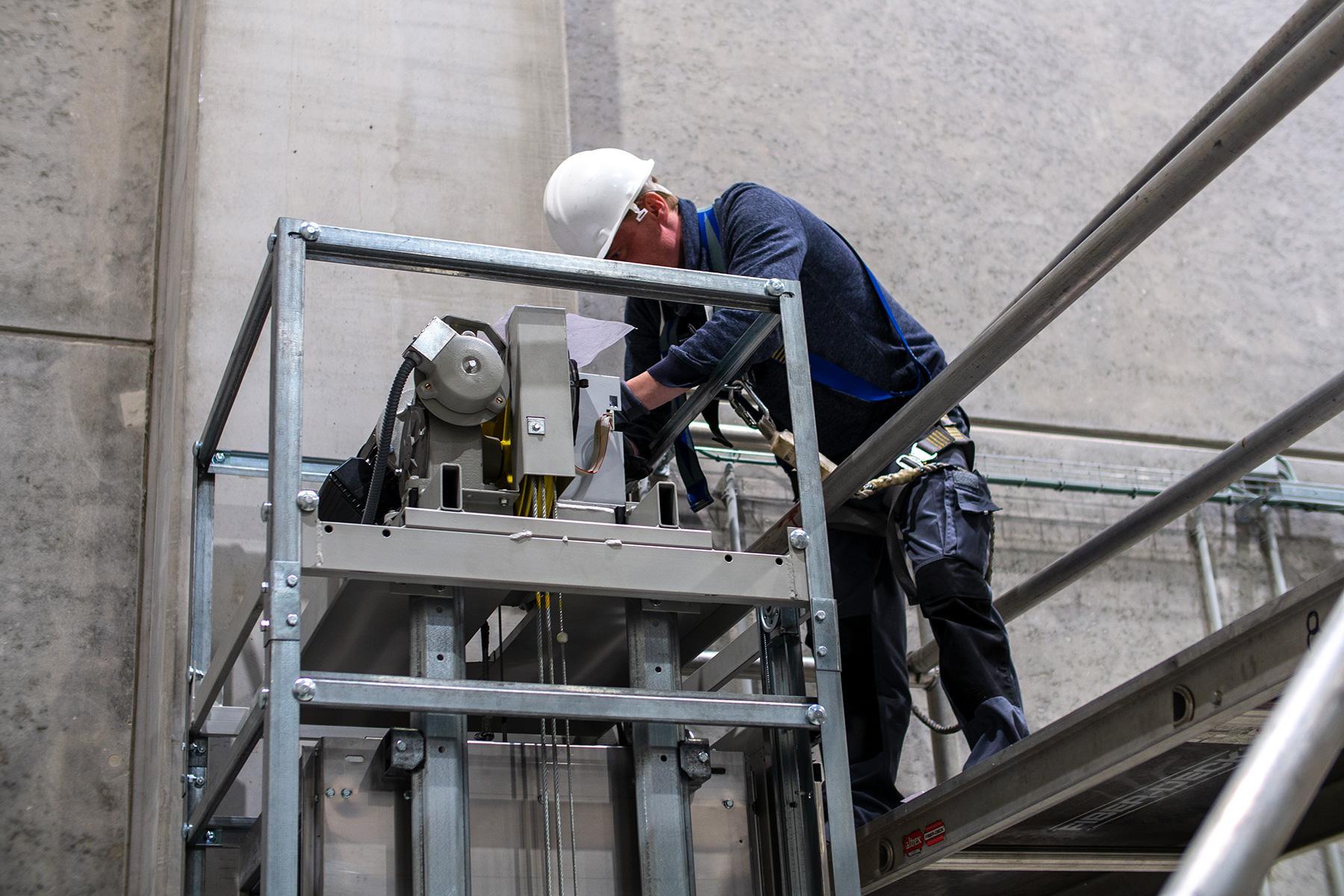Agent en techniques d'ascenseur (m/f)