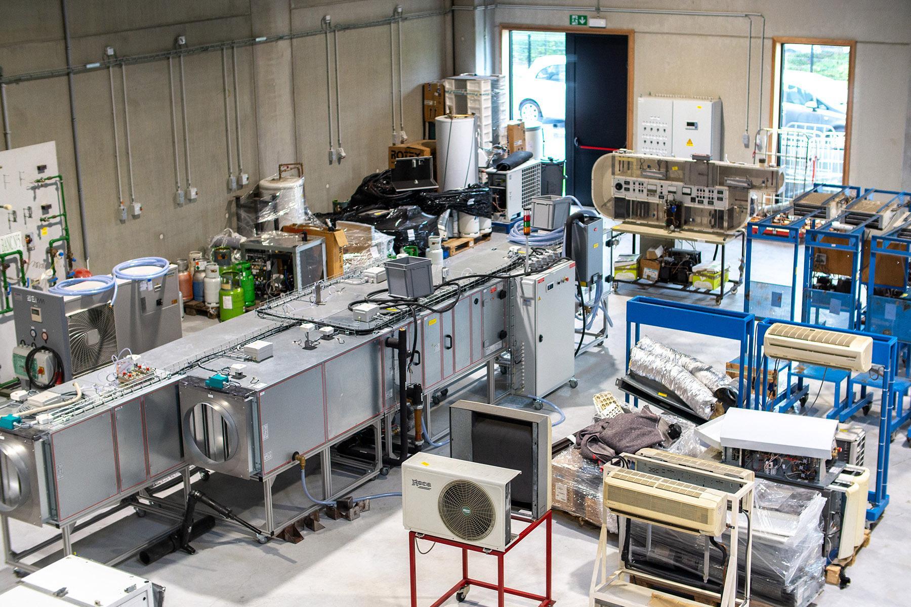 Atelier techniques HVAC