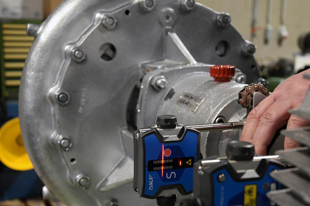 Mécanique – Alignements laser