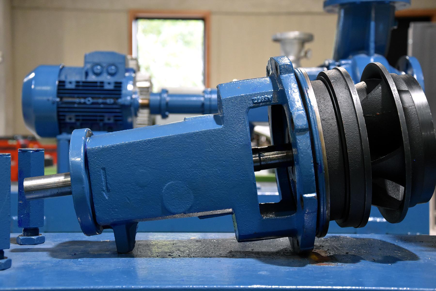 Mécanique - Les pompes basse pression dans l'industrie